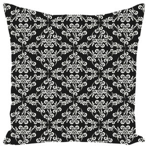 Ornate Lace Throw Pillow, 14x20, Cover Only