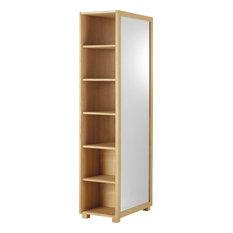 Garderobe Mit Spiegel skandinavische garderobe spiegel ständer