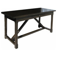 Montgomery Desk, Distressed Brown
