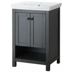 Transitional Bathroom Vanities And Sink Consoles By KnobDeco