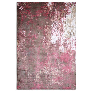 Impressions Rectangular Funky Rug, Red and Pink, 150x230 cm