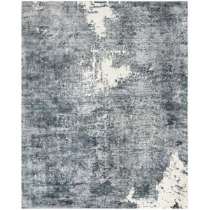Safavieh Mirage MIR724B Area Rug, Ivory/Grey, 6'x9' Rectangle