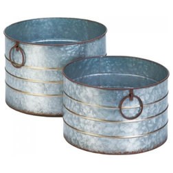 Farmhouse Outdoor Pots And Planters by Koolekoo