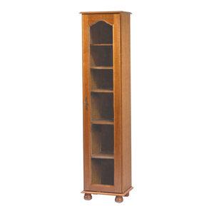 Brittany Oak Bookcase, 1 Door