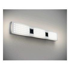 """Blackjack Lighting GRD-35V-827 Grid Single Light 34-19/32"""" Wide Integrated LED"""