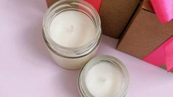 Ароматические соевые свечи