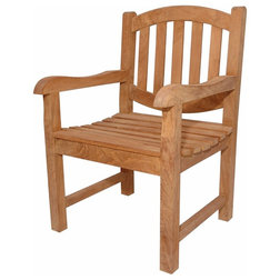 Craftsman Outdoor Dining Chairs by Shop Chimney