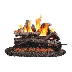"Standard Coastal Driftwood Gas Logs, 18"", 24"" Ch"