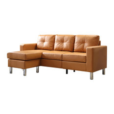 Nathaniel Home   Small Space Convertible Sectional Sofa   Sectional Sofas