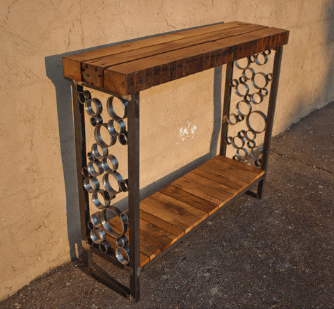 Upcycled Entry/Sofa Table