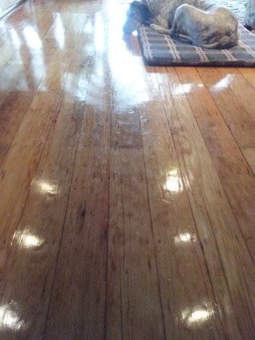 Houzzers I Ve Got A Polished Floor Dilemma
