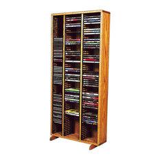 Cd+Dvd Storage Cabinet, Dark