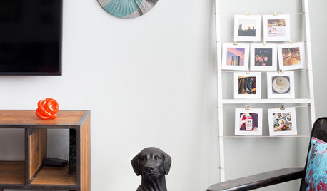 How to Display Lots of Photos Without a Perfect Gallery Wall