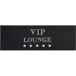 Easy Clean Black VIP Lounge Doormat, Large