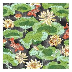 York Wallcoverings WC7560 Waverly Classics Ii Lotus Lake Removable Wallpaper