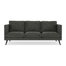 Piper Sofa Micro Suede Charcoal