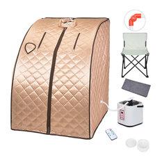 YesHom - 2-Liter Portable Steam Sauna and Chair Set - Saunas