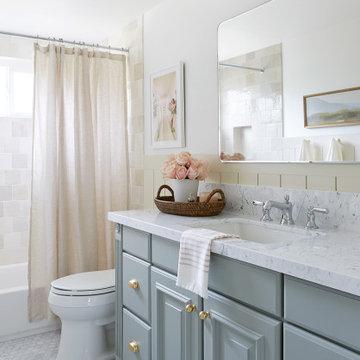 """Start With Art"" Gray Malin Bathroom Design"