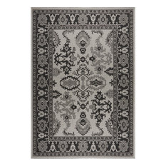 "Patio Country Gray/Black 5'2""x7'2"" Area Rug"