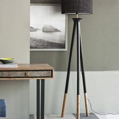 Contemporary floor lamps houzz meta led floor lamp floor lamps mozeypictures Gallery