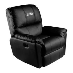 Villanova Wildcats Collegiate Rocker Recliner With Wordmark Logo