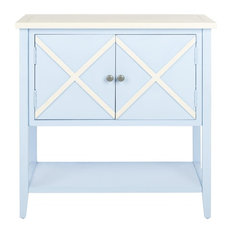 Polly Sideboard - Light Blue/ White