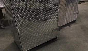 Aluminum Cabinets For Local Gas Company