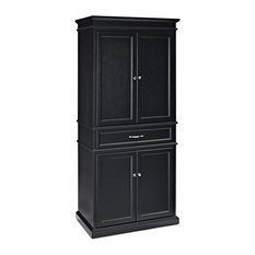 Etonnant Crosley   Parsons Pantry, Black   Pantry Cabinets