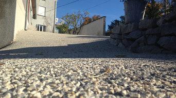 Sols Terrasses En Béton Décoratif
