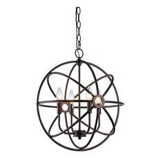 chloe lighting inc ironclad pendant oil rubbed bronze