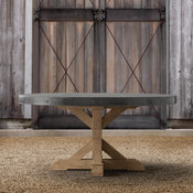 Concrete Round Dining Table