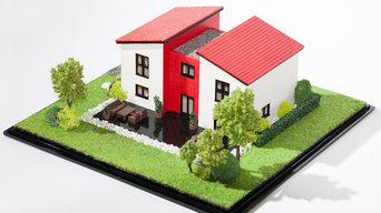 3D-Druck-Architekturmodelle
