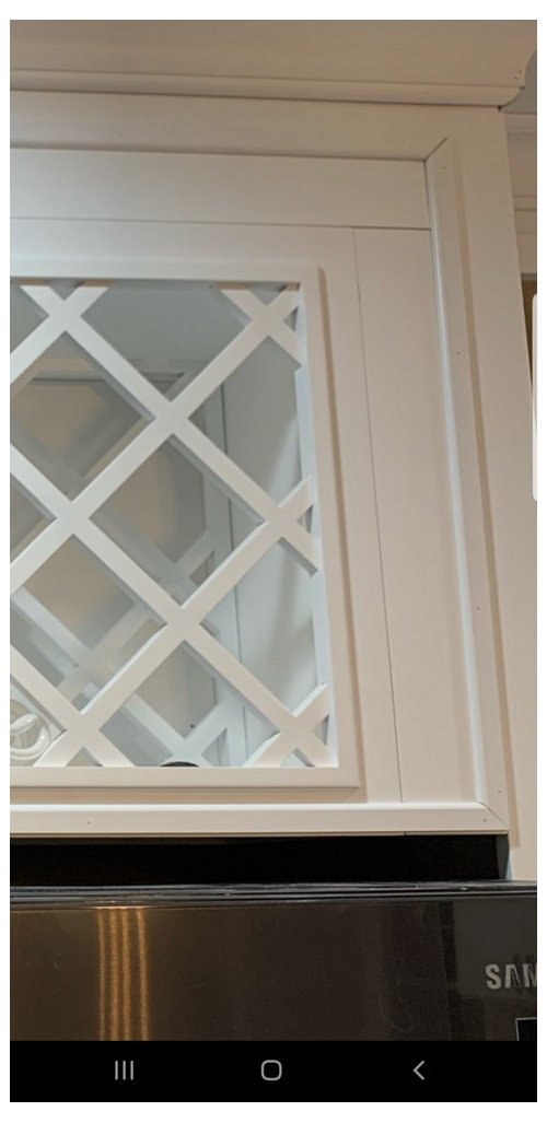 kitchen cabinets and trim molding nails