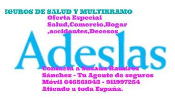 OFERTA ESPECIAL ADESLAS SEGUROS DE SALUD Y MULTIRRAMO