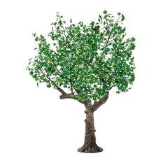 LED Green Maple Tree