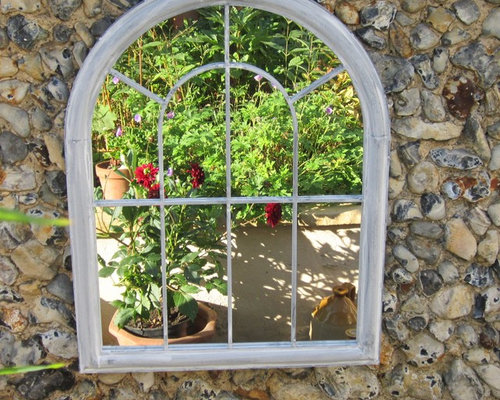 Nice Garden Mirrors Add Light And A Feeling Of Space To Your Garden Or Yard    Wall