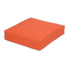 Outdoor Patio Deep Seat Cushion, Orange