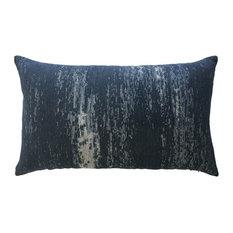 Elaine Smith Distressed Indigo Lumbar Pillow