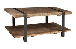 "Alaterre Modesto 24""x42"" Reclaimed Wood Coffee Table"