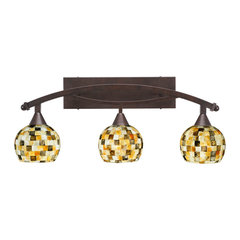 Oil rubbed bronze bathroom vanity lights for your home houzz 266 aloadofball Gallery