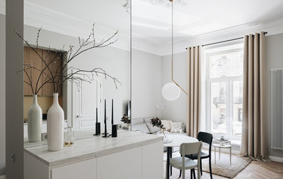 Houzz тур: Маленькая квартира в доме архитектора Боссе