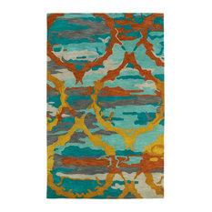 Kaleen Brushstrokes Collection Rug, 8'x11'