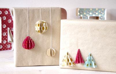 DIY : Personnalisez vos cadeaux grâce à des pliages astucieux