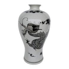 """Derete Urn Vase Dragon, 13""""x24"""""""