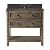 """Legion Furniture Legion Furniture Single Sink Vanity, Rustic Brown, 36"""""""