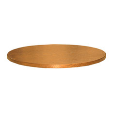 """Amish Made Oak 20"""" Round Tabletop Lazy Susan, 20"""" Seely Stain"""