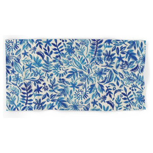 Society6 Floating Garden Hand and Bath Towel, Set of 4
