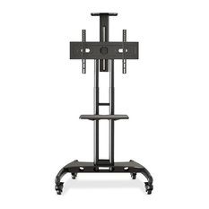 Lorell Flat Panel TV Cart 32-inch To 70-inch Screen Support 100 Lb. Load Capacity