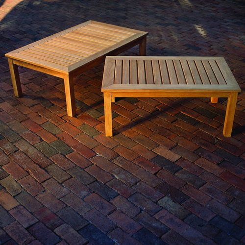 Kingsley Bate Classic Teak Outdoor Coffee Table   Outdoor Coffee Tables
