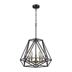 50 most popular cage chandeliers for 2018 houzz residence zimmerman chandelier chandeliers aloadofball Gallery